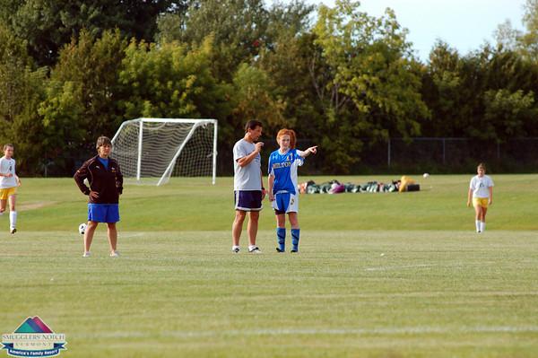 2009 Girls Varsity Soccer- vs. BFA