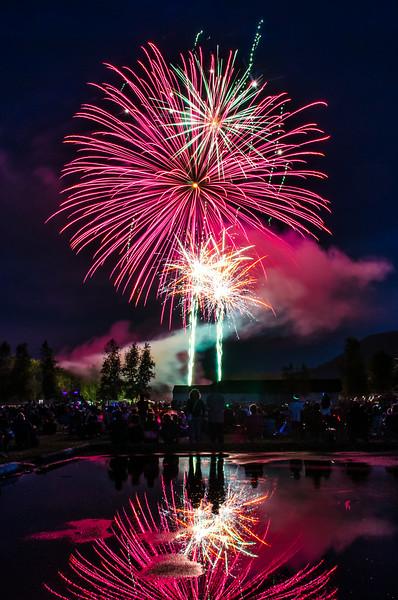 Milton VT Fireworks 2014