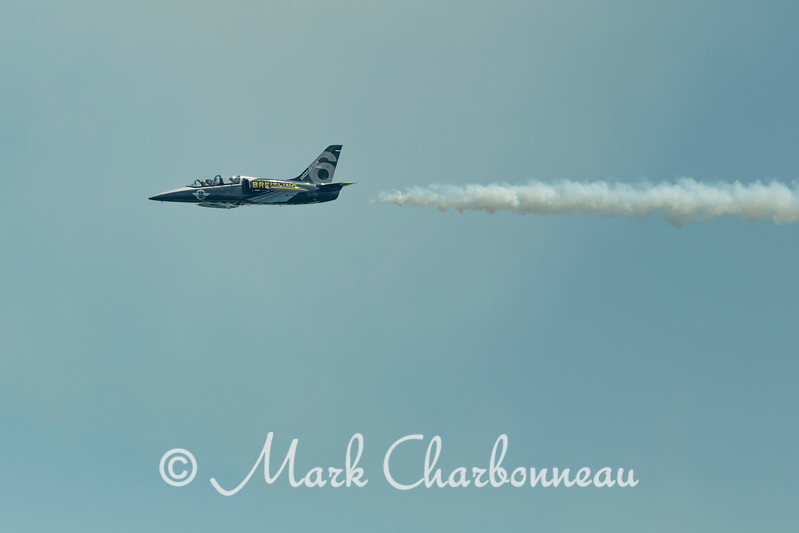 the Breitling jet team flying the Czech Aero L-39 Albatros