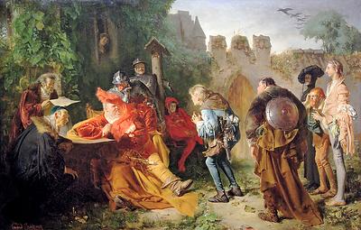 Falstaff mustering troops