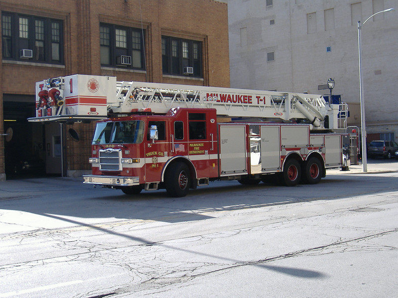 Milwaukee Fire Department Appartus