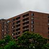 Brown Brick Building in Milwaukee