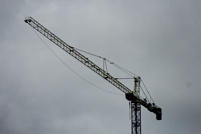 Crane in Milwaukee