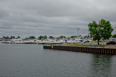 Boats at the Harbor in Milwaukee