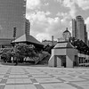 Milwaukee Cityscape on Black and White 35mm Film Photograph 139