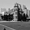 Milwaukee Cityscape on Black and White 35mm Film Photograph 155