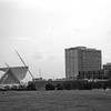 Milwaukee Cityscape on Black and White 35mm Film Photograph 34