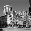 Milwaukee Cityscape on Black and White 35mm Film Photograph 157
