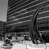 Milwaukee Cityscape on Black and White 35mm Film Photograph 75