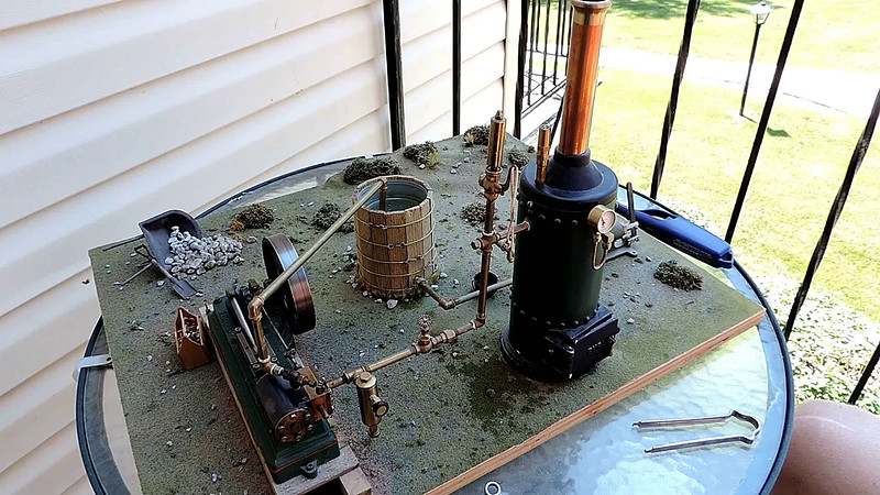 Stuart S50 Stationary Steam Engine