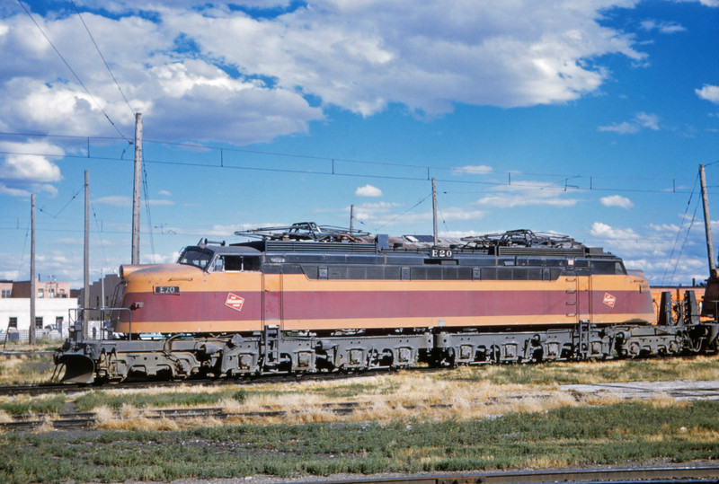 Milwaukee Road 2 - Aug 6 1962 - E20 @ Three Forks MONT