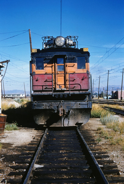 Milwaukee Road 6 - Aug 7 1962 - E49b @ Butte MONT