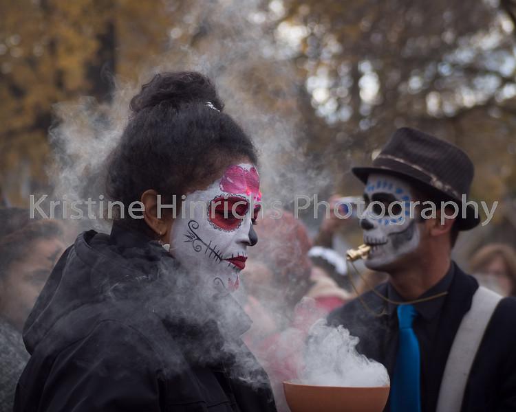 November 1, 2014. Incensed - Dia de los Muertos Walkers Point