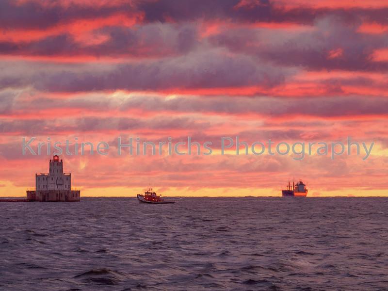 11.11.2016 Ship passing