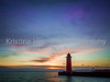 December 29, 2014. The red lighthouse