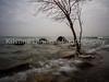 December 5, 2014. High tide