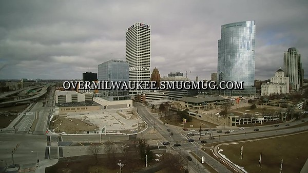 Downtown Milwaukee  Early March 2017