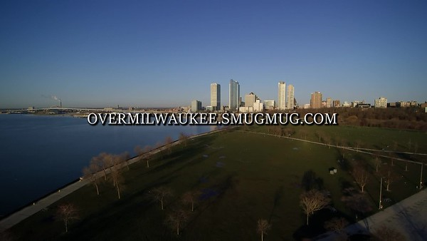 Milwaukee's Veteran's Park and Skyline April 2017. 1920 x 1080 30 fps :38