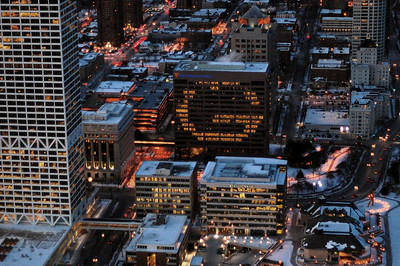 Northwestern Mutual Life shows it's support for the Green Bay Packers.