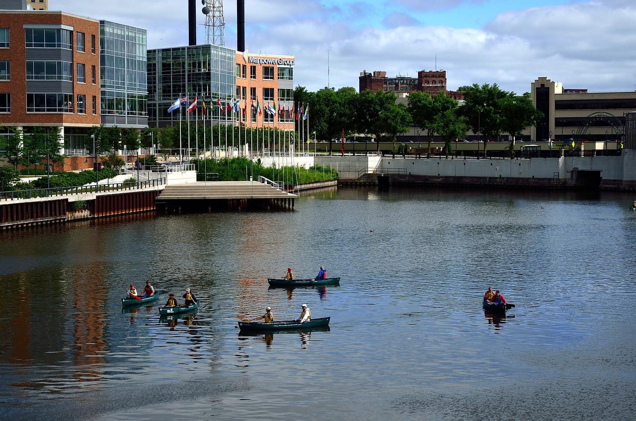 Milwaukee River July 2013
