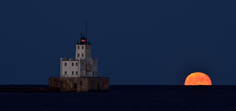 Milwaukee Super Moon July 2013