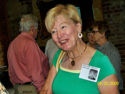 Photos From Phyllis Roberts Smith:  Karen Lloyd, wife of Keith Lloyd