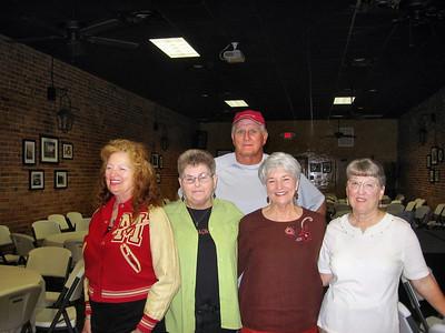 Photos from Betty Hinze:  Oree Hoefeld Robinson, Lenora Bryan Fluhr, Zannia Lou McDade Speights, Jamie Mays Vance