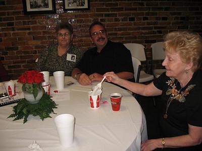 Photos by Barbara Larkin:  Lenora Bryan Fluhr, Michael Fluhr, Nelda Wilkerson Martin