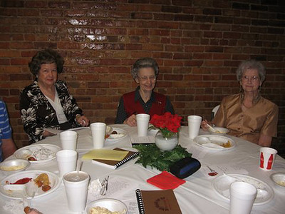 Photos by Barbara Larkin:  Our teachers Dorothy Campbell, Mary Kirkley, Irene Williams