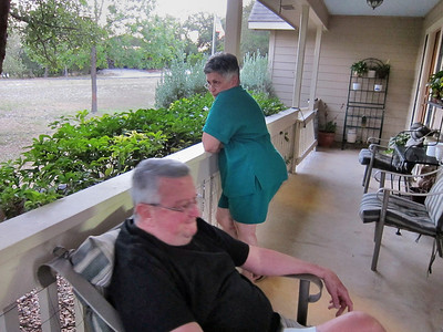 Visiting Gerry and Yvonne Fitzgerald in San Antonio/Lake Hills, Texas
