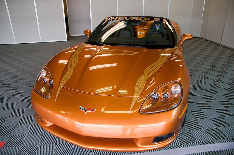 Pace car Corvette