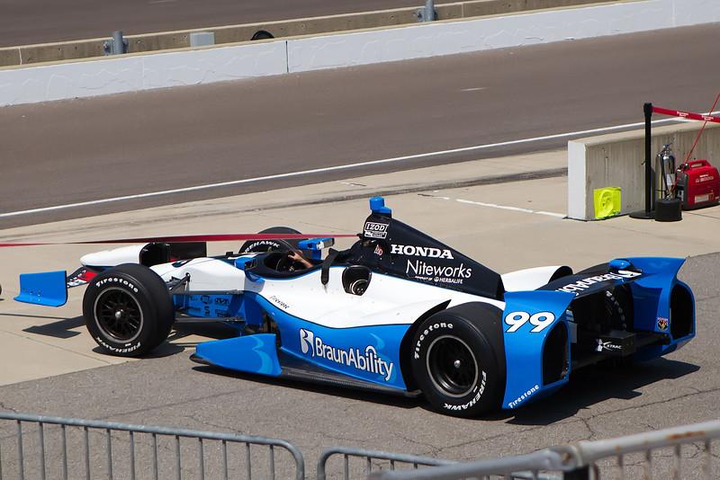 Honda - Townsend Bell - Sam Schmidt Motorsports