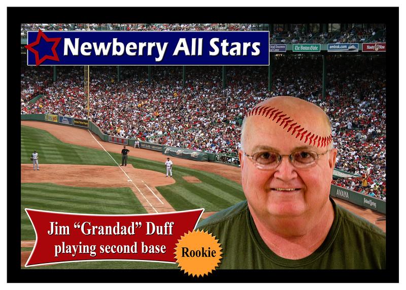 Jim Duff - Newberry All Stars