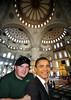 Closet Democrat in a Mosque.