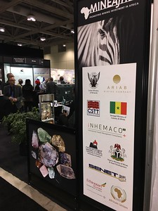 8 exhibitors at the MineAfrica booths at the PDAC trade show