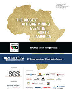 The biggest African mining event in North America