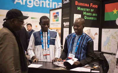 Frederic Bagoro and Samuel Djiguemed (Burkina Faso Ministry of Mines)