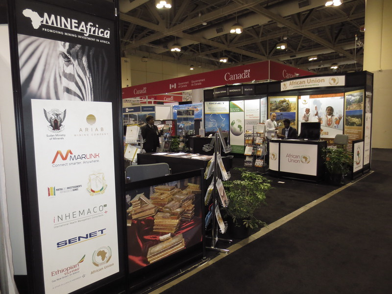 The PDAC convention attracts over 1,000 exhibitors, 3,800 investors and 24,000 attendees from 130 countries