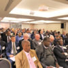 A full house for our 8th Panel Discussion on Africa's mining industry with premier sponsor Webber Wentzel