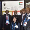 The Sudan delegation at PDAC
