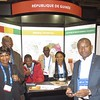The Guinean delegation at PDAC
