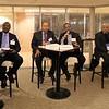 Panelists Daniel Major, Veston Malango, Ato Moutuma Mekassa, Paul Msoma, Hashim Ali Mohamed Salim, Mohamed Abufatima