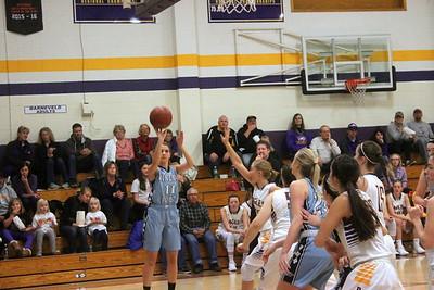 Mineral Point @ Barneveld Girls Basketball 12-9-17