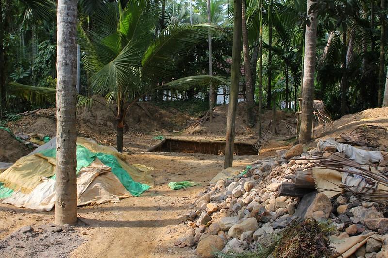 Gemstone mining in Ratnapura area, Sri Lanka