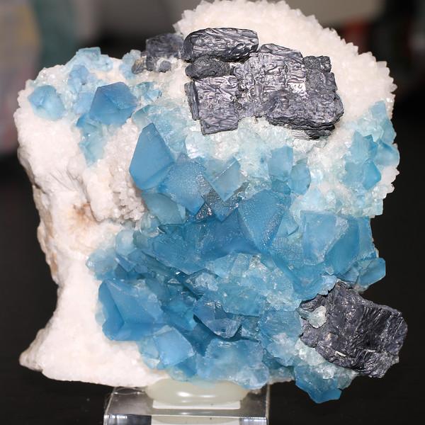 Fluorite and Sphalerite