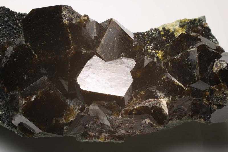 Andradite, Vesuvianite and Clinochlore