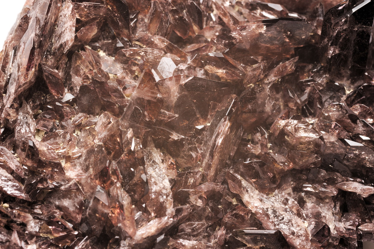 Axinite - (Fe) - Ferro-axinite with Albite
