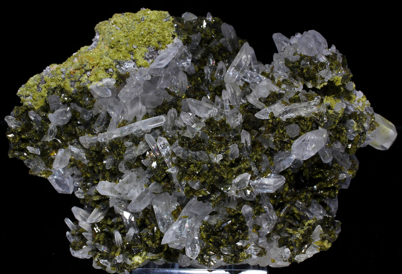 Epidote with Quartz