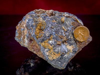Galena (Lead ore), El Paso County, Texas