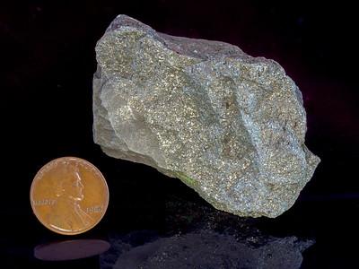 Chalcopyrite (Copper Sulfide), El Paso County, Texas
